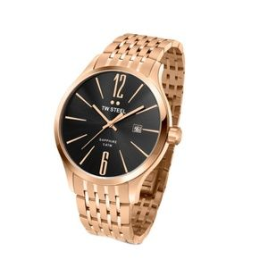 TW Steel Slim Line Rose Gold Men's Watch